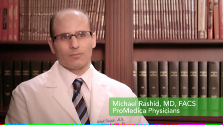 Dr. Rashid talks about his practice