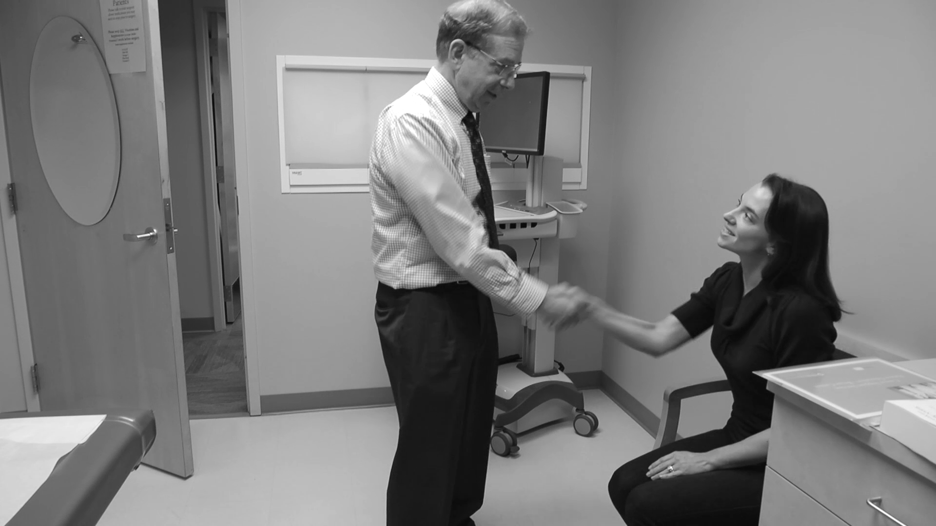 Dr. Clarfeld talks about his practice