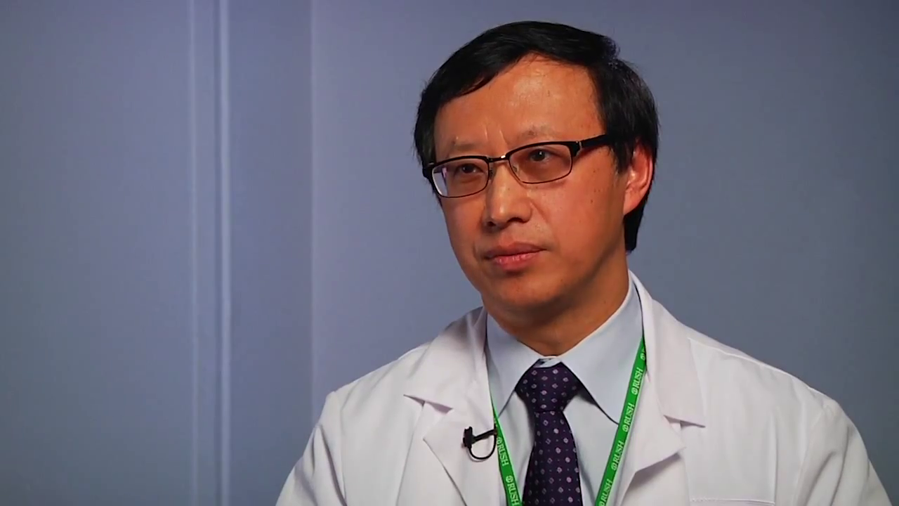 Dr. Wang talks about his practice