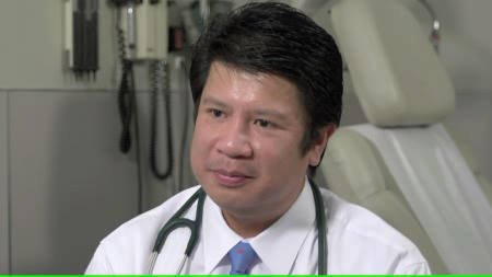 Dr. Velasco Jr. talks about his practice