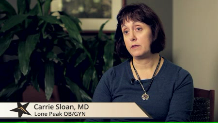 Dr. Sloan talks about her practice
