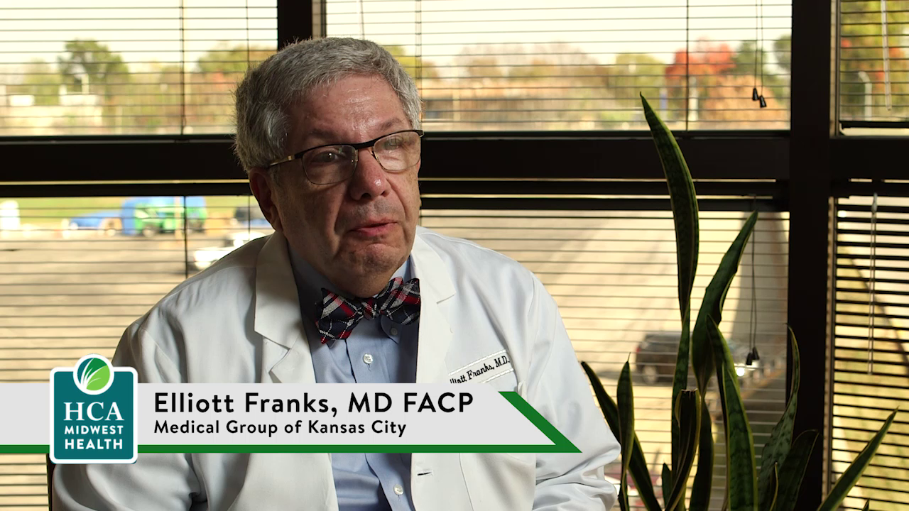 Dr. Franks talks about his practice