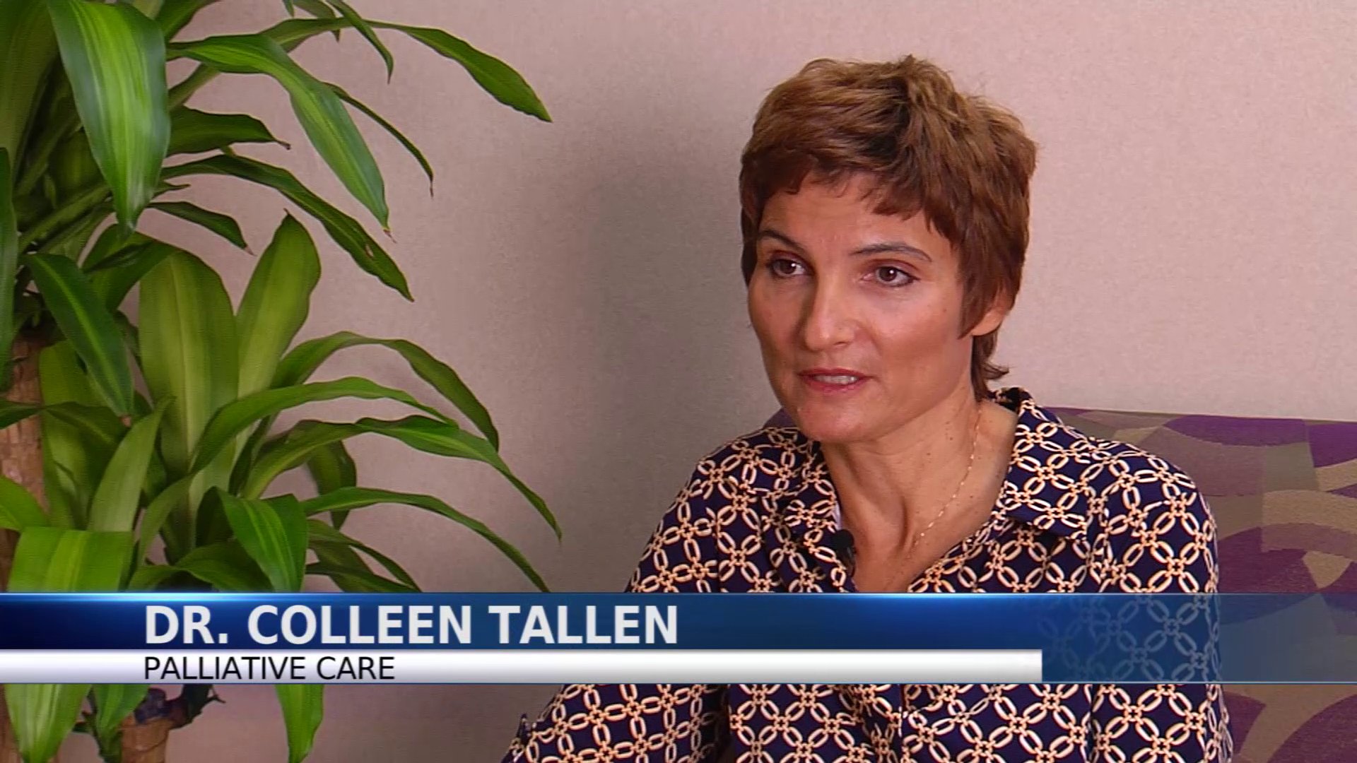 Dr. Tallen talks about her practice
