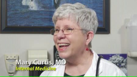 Dr. Curtis talks about her practice