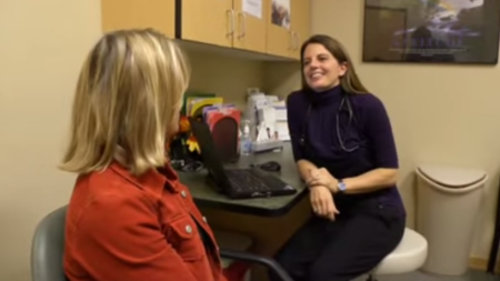 Dr. Hoffmann talks about her practice
