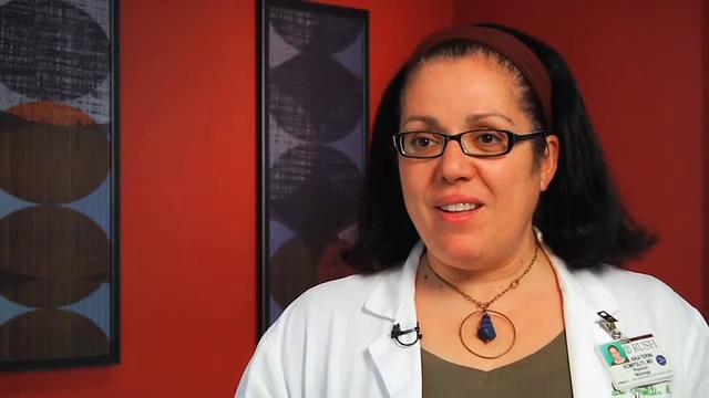 Dr. Kompoliti talks about her practice