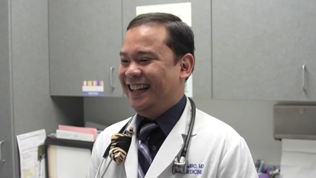 Dr. Ramiro talks about his practice