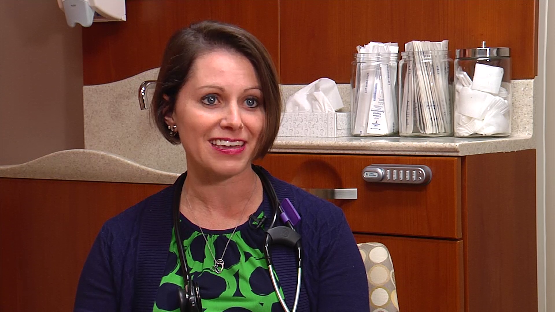 Dr. Cavanagh talks about her practice