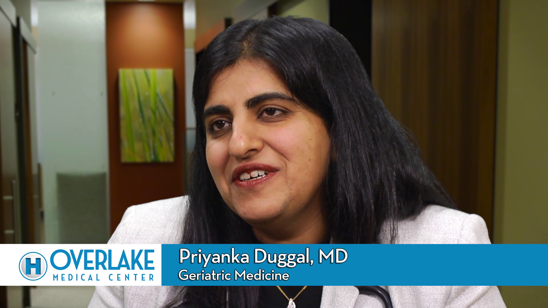 Dr. Duggal talks about her practice