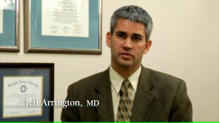 Dr. Arrington V talks about his practice