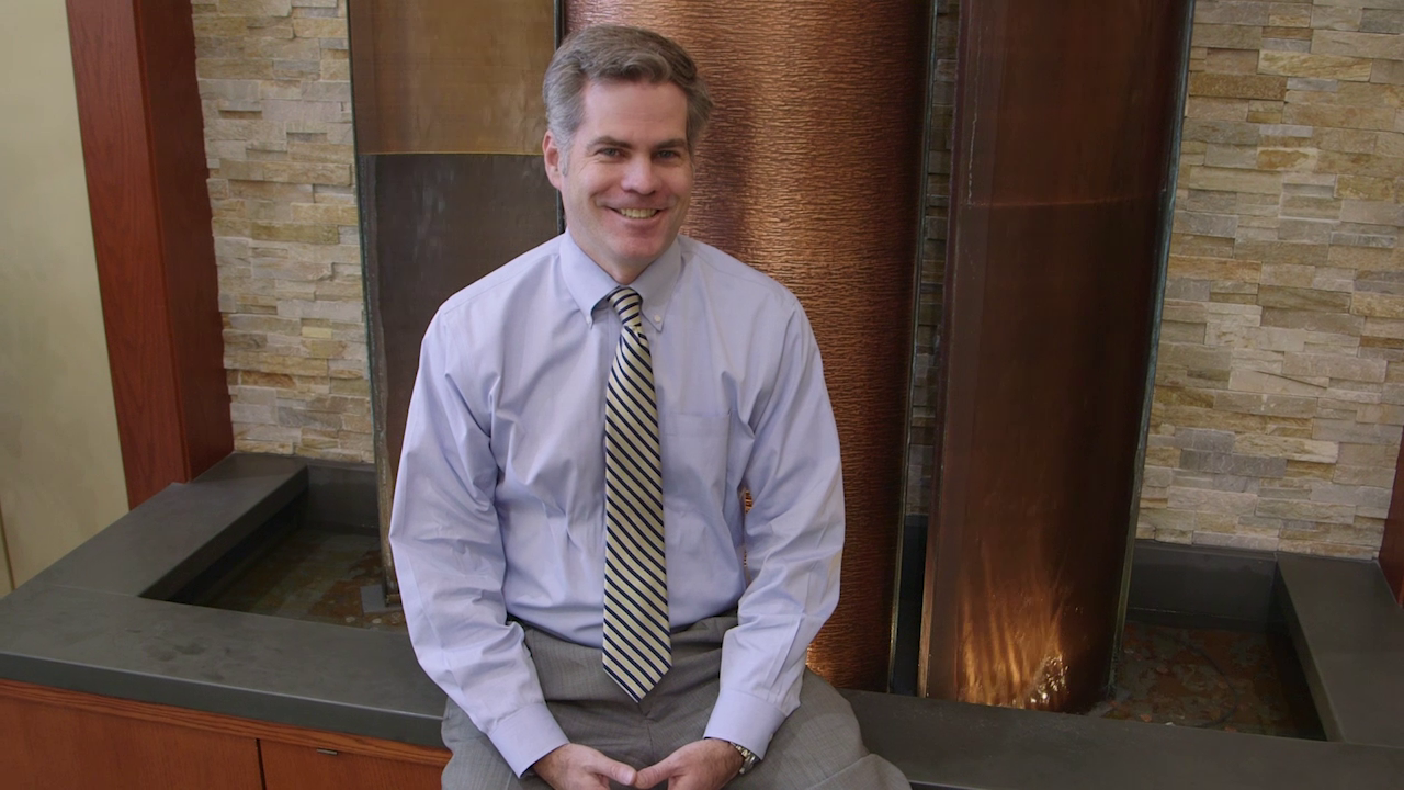 Dr. Lynch talks about his practice