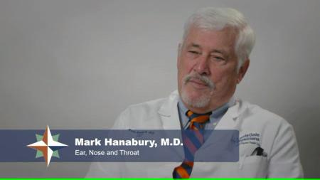 Dr. Hanabury Jr. talks about his practice