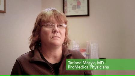 Dr. Masyk talks about her practice