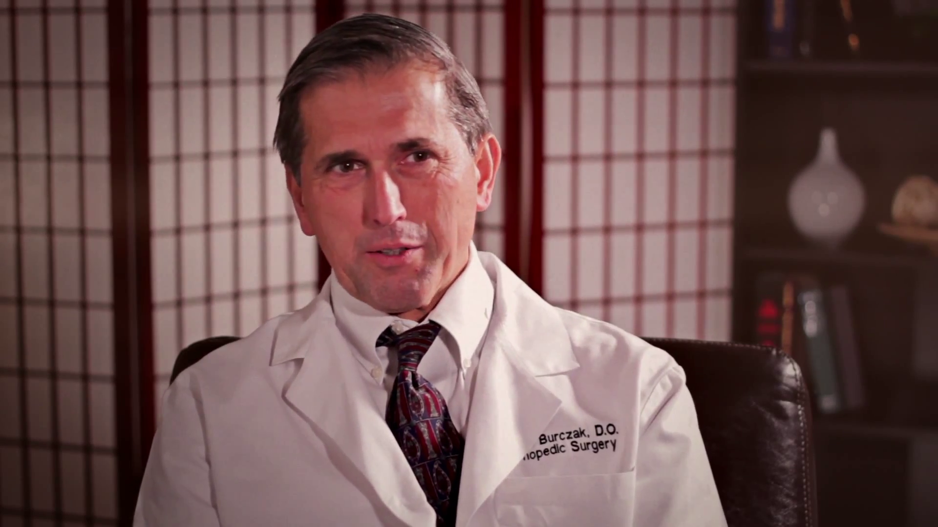 Dr. Burczak talks about his practice
