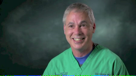 Dr. Morris talks about his practice