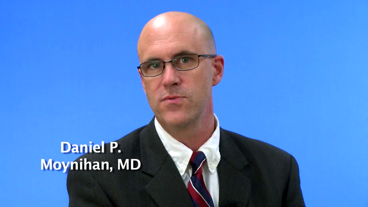 Dr. Moynihan talks about his practice