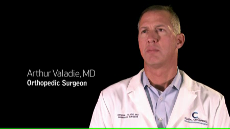 Dr. Valadie III talks about his practice