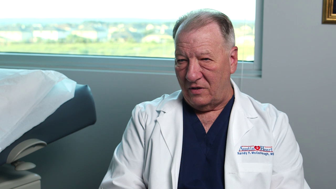 Dr. McCollough talks about his practice
