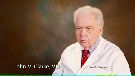 Dr. Clarke talks about his practice