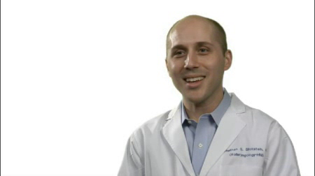 Dr. Glickstein talks about his practice