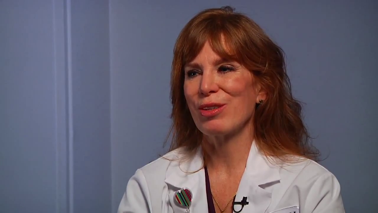 Dr. Stenson talks about her practice