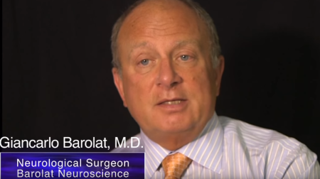 Dr. Barolat talks about his practice