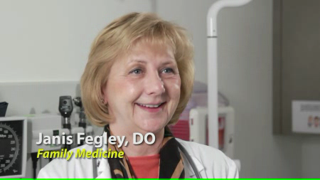 Dr. Fegley talks about her practice