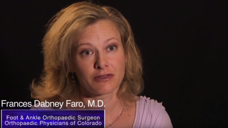 Dr. Faro talks about her practice