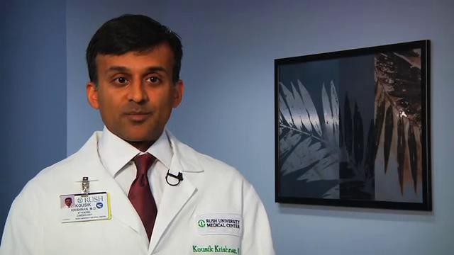Dr. Krishnan talks about his practice