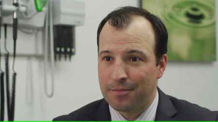 Dr. Johnston talks about his practice