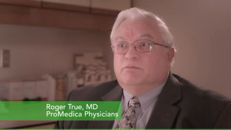 Dr. True talks about his practice