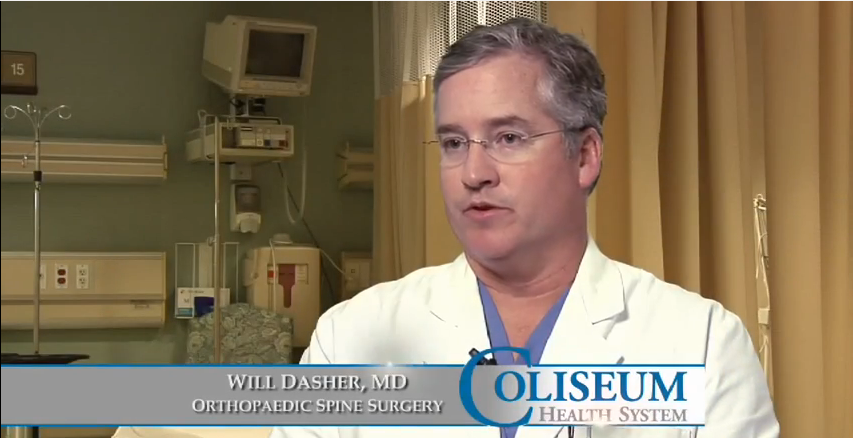 Dr. Dasher III talks about his practice
