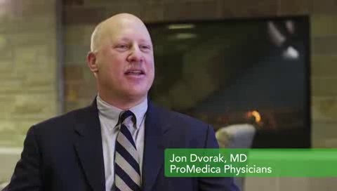 Dr. Dvorak talks about his practice