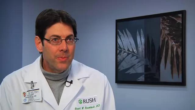 Dr. Rosenbush talks about his practice