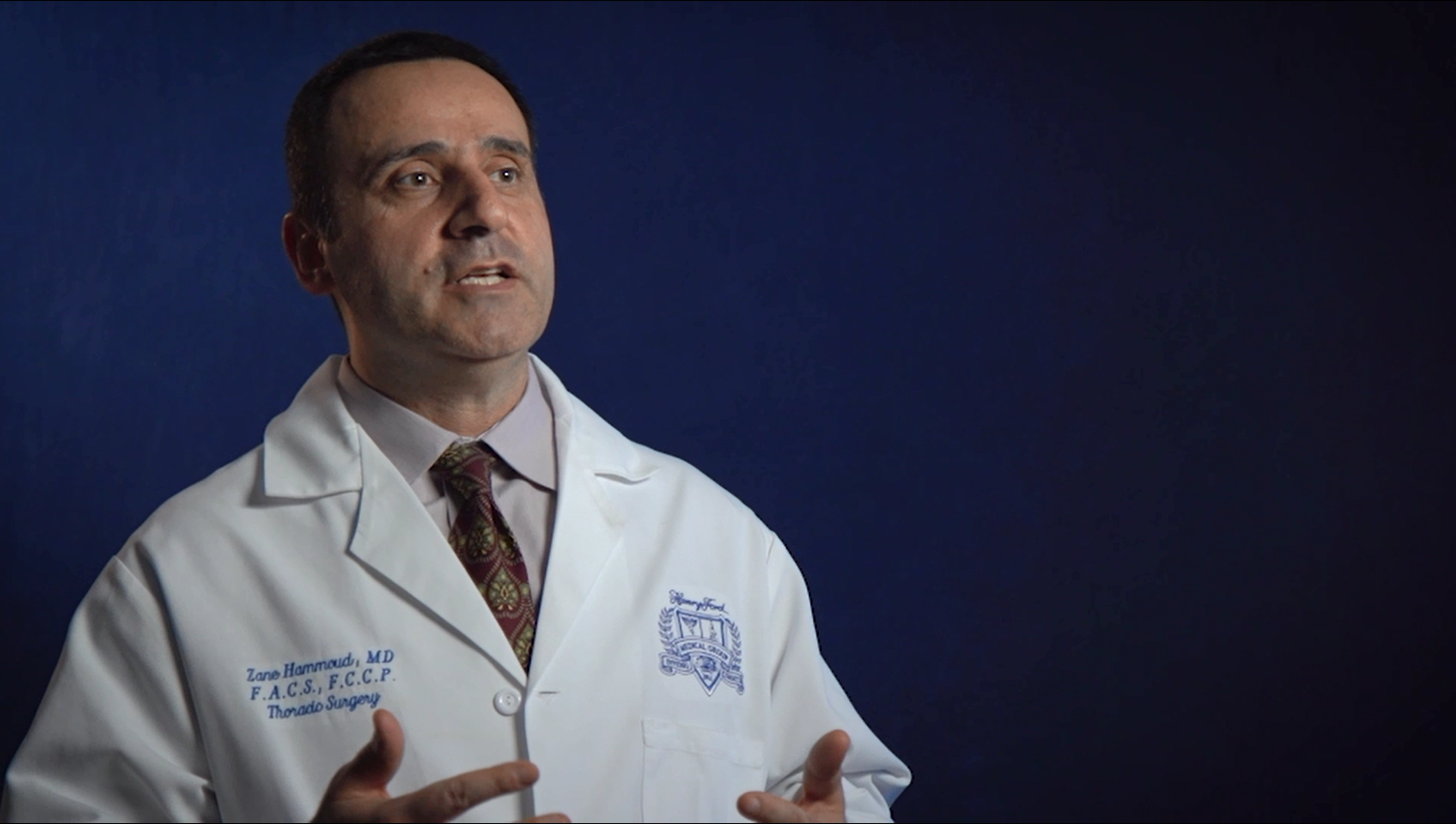 Dr. Hammoud talks about his practice