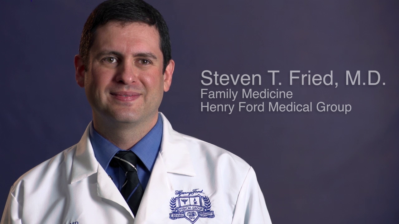 Dr. Fried talks about his practice