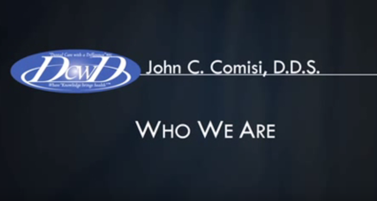 Dr. Comisi talks about his practice