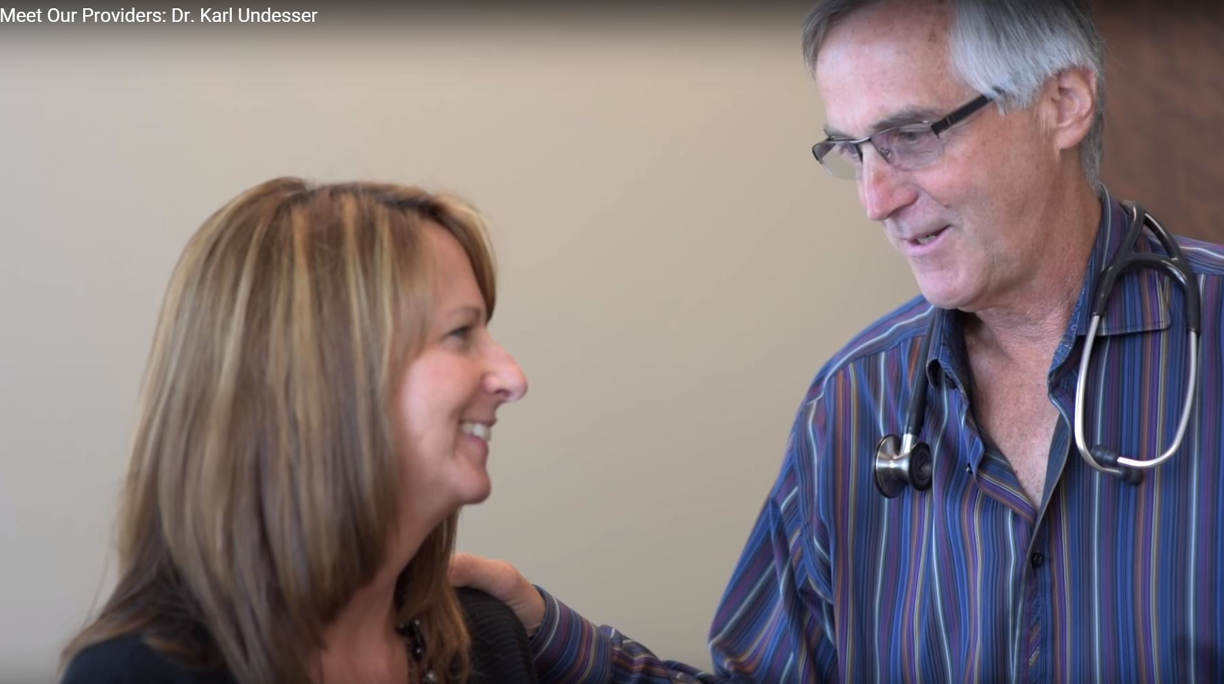 Dr. Undesser talks about his practice