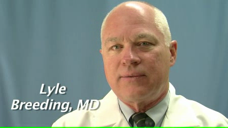 Dr. Breeding talks about his practice