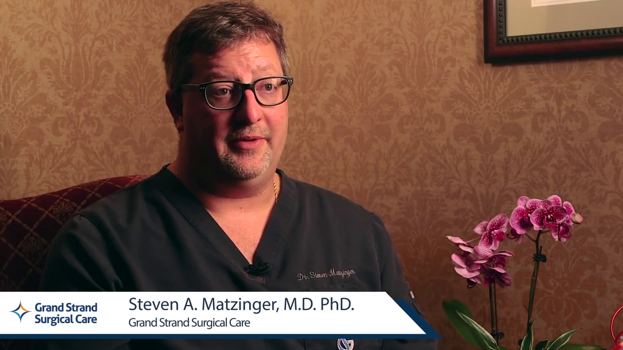 Dr. Matzinger talks about his practice