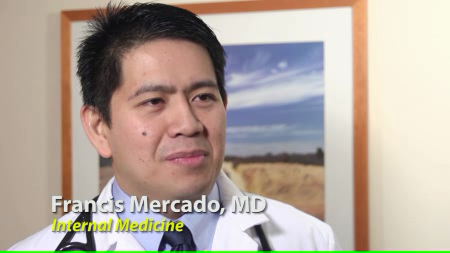 Dr. Mercado talks about his practice