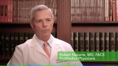 Dr. Navarre Jr. talks about his practice