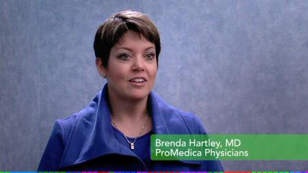 Dr. Hartley talks about her practice