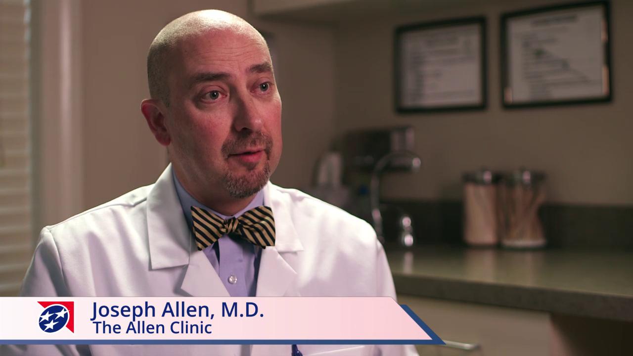 Dr. Allen talks about his practice