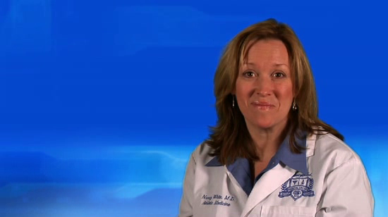 Dr. White talks about her practice