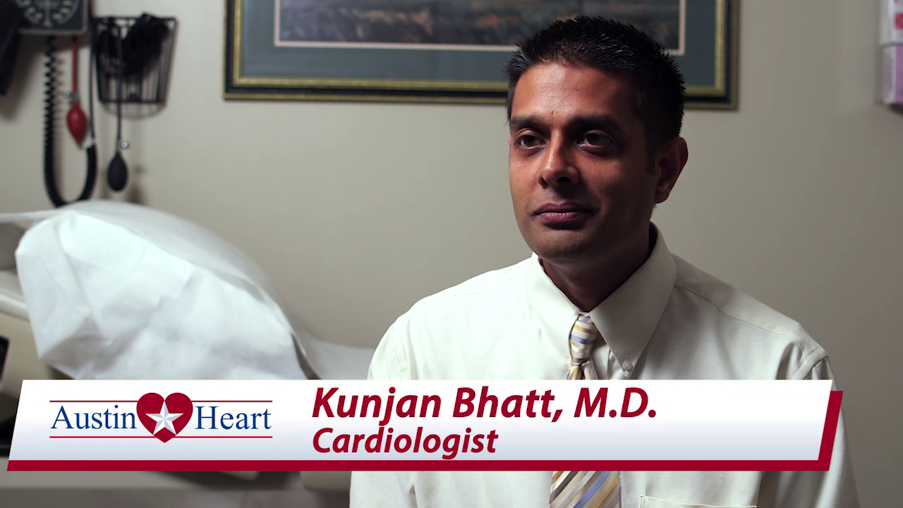 Dr. Bhatt talks about his practice