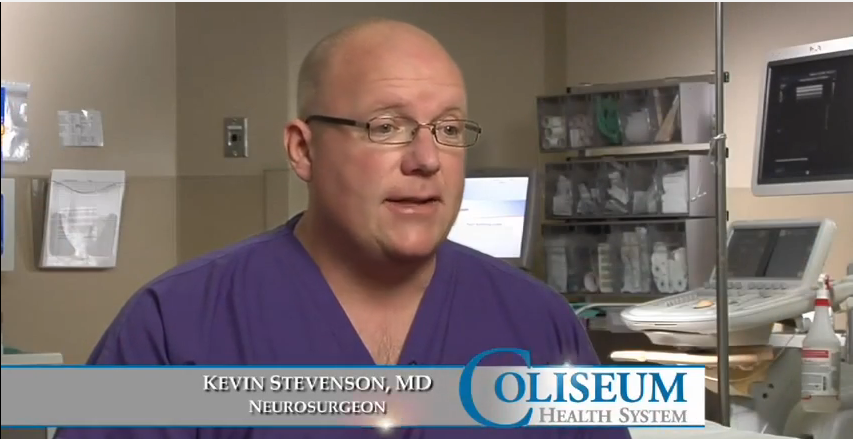 Dr. Stevenson talks about his practice