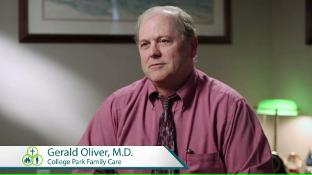 Dr. Oliver talks about his practice